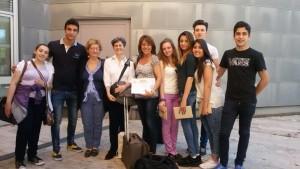 il gruppo con Paola Farina lPresidenza nazionale Fnism