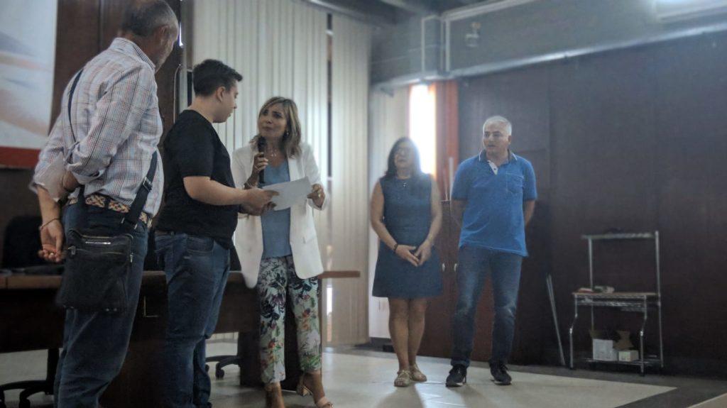 Premiazione di Marco Agatello
