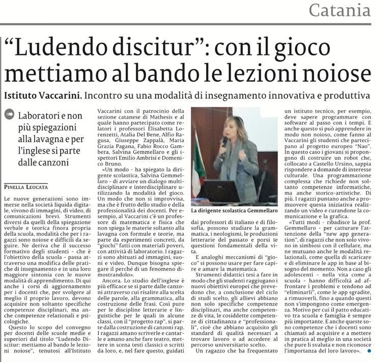 La Sicilia Ludendu discitur