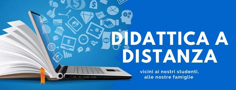 Da lunedì 30 marzo 2020 le attività di Didattica a Distanza delle classi del nostro Istituto si svolgeranno mediante accesso alla piattaforma GSUITE. Per informazioni cliccare su questa immagine