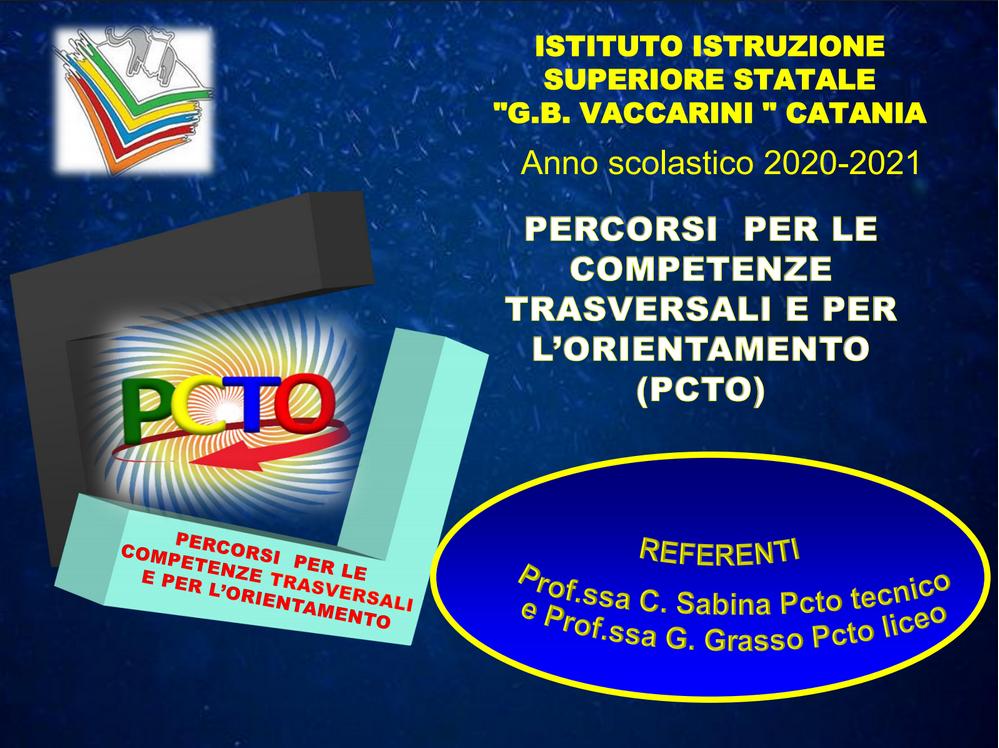 Presentazione PCTO