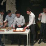 I 5 studenti  che hanno realizzato il modello 3D