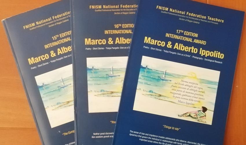 Opuscolo XVII edizione premio Marco  Alberto Ippolito